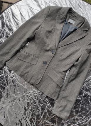 Приталенный пиджак xs