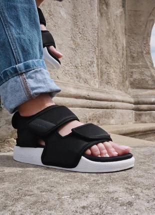 Женские босоножки adidas adilet 3.0 black наложка