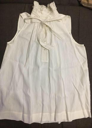 Zara топ блуза с бантом