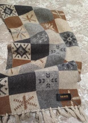 Качественный шарф бренд monti