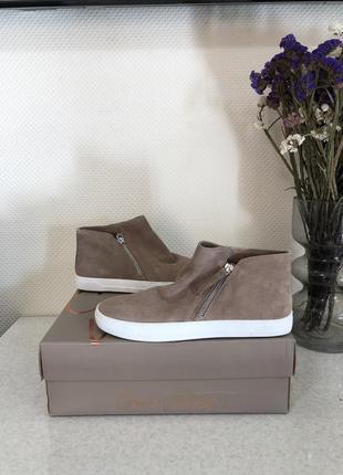 Ботинки хайтопы crown vintage