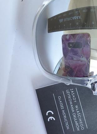 Очки солнезащитные с зеркальным стеклом и защитой от солнца от cropp8 фото