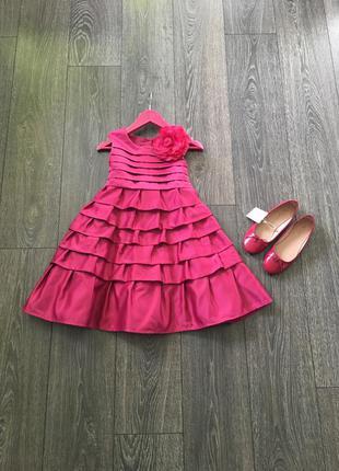 Шикарное платьице на вашу принцессу рост до 128, 7-8 лет