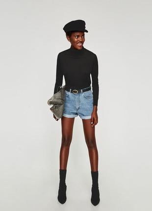 Шорти zara mom fit bermuda shorts - 38