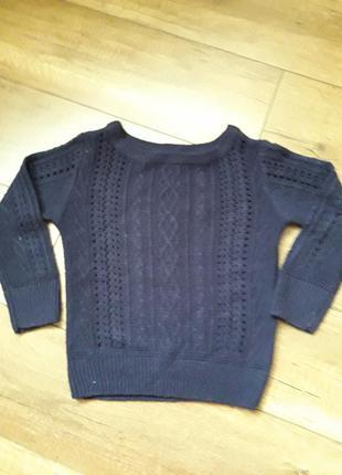 Ажурный свитерок на модницу