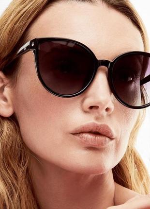 Norrsken солнцезащитные очки в оправе «кошачий глаз»