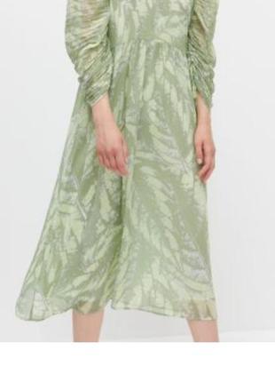 Платье миди новое