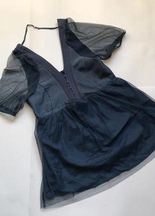 Интересная воздушная блуза noa noa p.xs