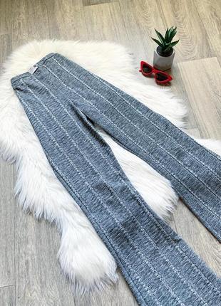 Идеальные серые брюки-палаццо на высокую посадку 😍