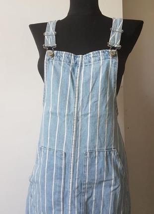 Комбинезон юбка в полоску