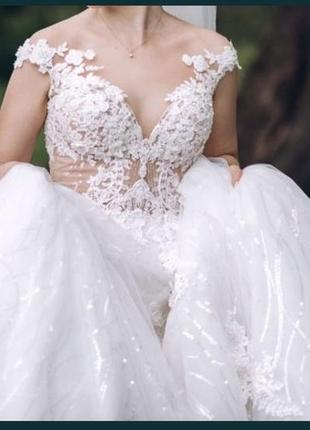 Свадебное платье millanova3 фото