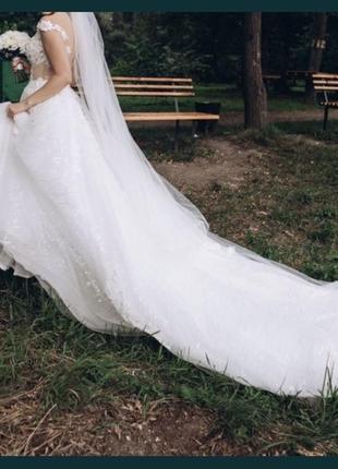 Свадебное платье millanova4 фото