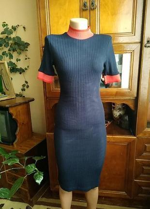 Очень красивое платье в обтяжку, zara,новое