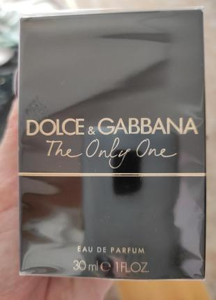 Духи dolce & gabbana. the only one