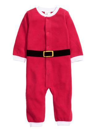 Санта костюм с шапкой, h&m, 74см и 68см
