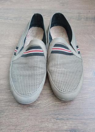 Мужские туфли, кожаные, 44 размер