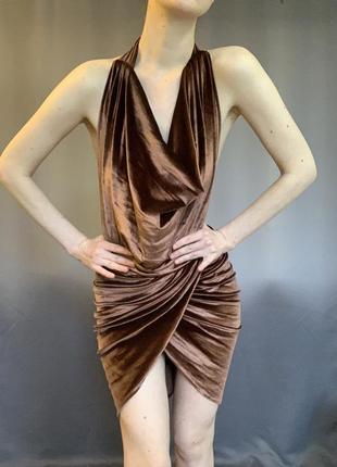 Платье мини , платье с открытой спиной