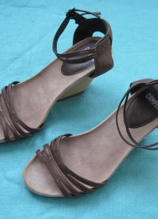 Camper rachel wedge (38) кожаные босоножки