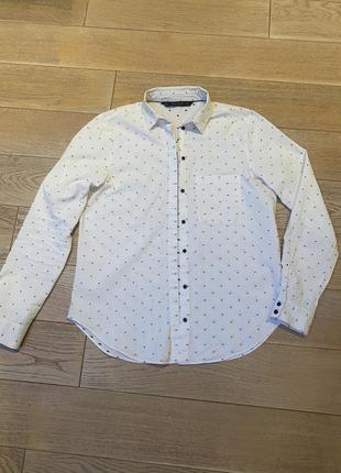 Рубашка zara размер m испания