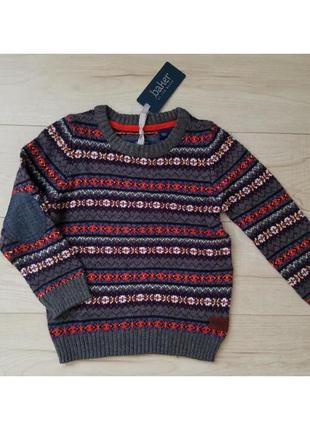 Крутой  свитер реглан кофта свитшот батник baker  оригинал usa 5 t
