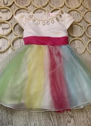 Платье детское нарядное пишное праздничное сукня плаття дитяча