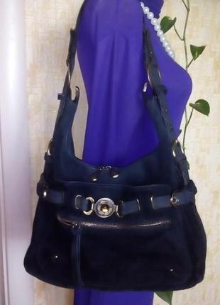 Замшевая сумка/сумочка/рюкзак/чемодан/клатч/кошелёк/торба