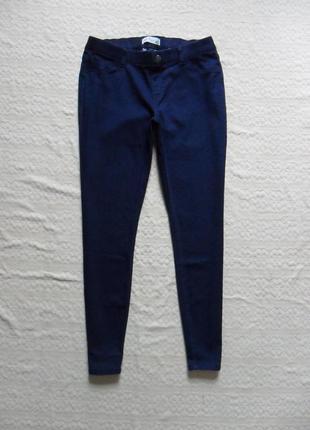 Стильные синие джинсы джеггинсы скинни tchibo, 16 размер.