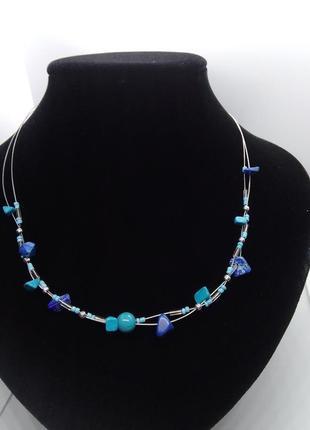 Ожерелье натуральные камни