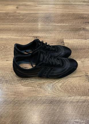 Кожаные мужские туфли geox