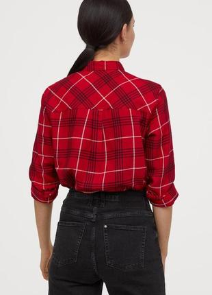 Новая фланелевая рубашка h&m2 фото