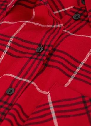 Новая фланелевая рубашка h&m5 фото