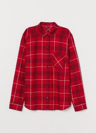 Новая фланелевая рубашка h&m3 фото