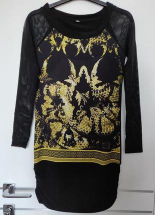 Новое дорогое и стильное мини миди платье премиум бренда