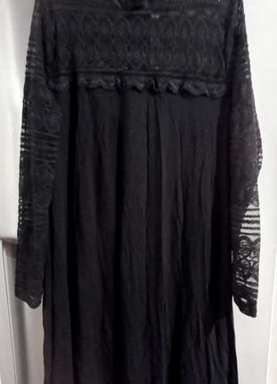 Шикарное фирменное платье marks & spencer 50-52р дорогое кружево