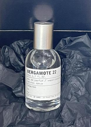 Le labo bergamote 22 tester 50 ml