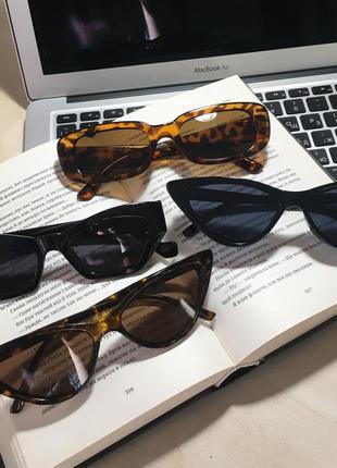 Новые солнцезащитные очки сонцезахисні окуляри бесплатная доставка чёрные леопардовые кошачий глаз