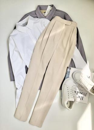 Бежевые брюки/штаны