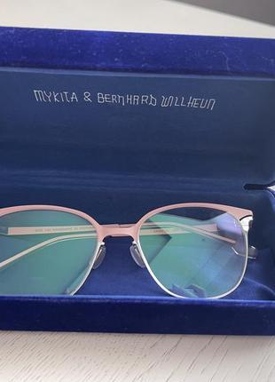 Очки нежно-розовая оправа