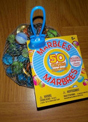 Американские винтажные шарики marbles для декора и игр marbres