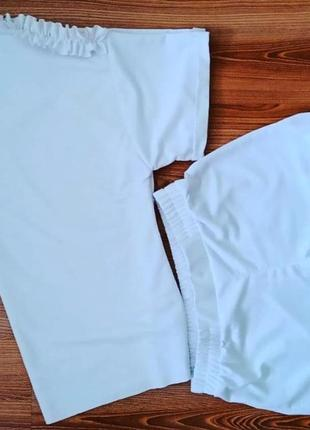 Летний костюм футболка оверсайз и шорты