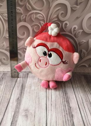 Нюша, свинка нюша, малыша рики, мягкая игрушка нюша
