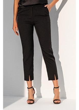 Черные зауженные брюки с высокой талией 🖤
