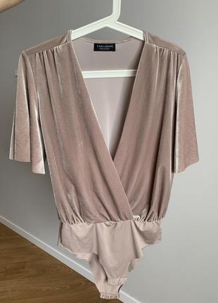 Топ zara боди блуза2 фото