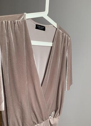 Топ zara боди блуза3 фото