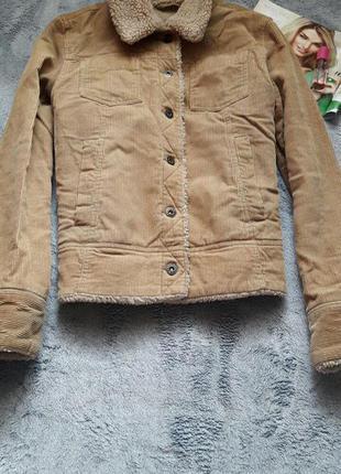 Крута вільветова утеплена курточка  bay