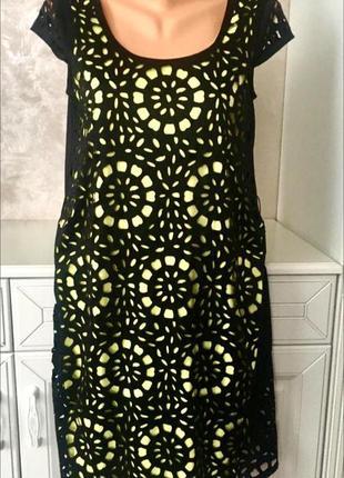 Шикарное эффектное платье с перфорацией