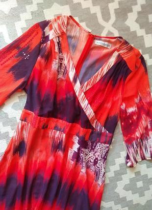 Лёгкое летнее платье-миди