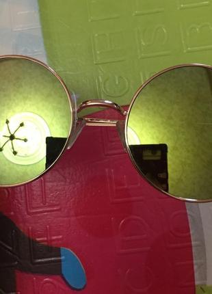 Круглые очки хамелеоны