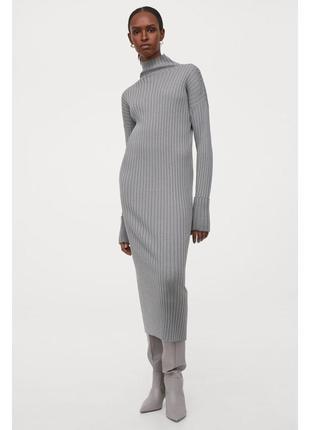 Платье из 100% шерсти мериноса