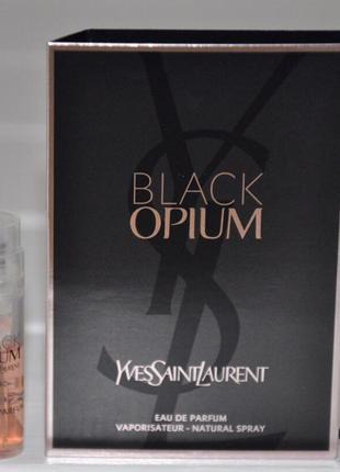 Пробник yves saint laurent black opium пробники парфюмерии оригиналы